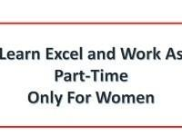 Basic and Advanced Level Excel Training only for Ladies