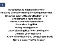Trading And Investment Advanced Professional Course