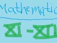 Mathematics XI