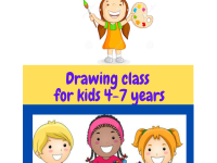 Drawing class For 4-7 years