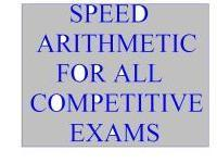 Speed Arithmetic for All Competitive  Entrances