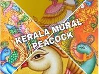 Summer Painting - Kerala Mural Peacock