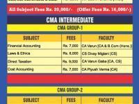 CMA Intermediate Group 2