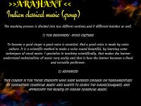 Arahant - Hindustani Classical Music (Individual)