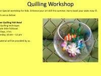Paper Quilling Summer Workshop 2