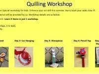 Paper Quilling summer workshop 1