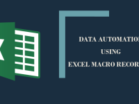 Data Automation using Excel Macro Recording Course