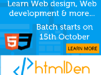 Web developer Training