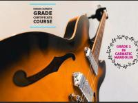 Indian Carnatic Grade Certification -Grade 1 in Carnatic Mandolin