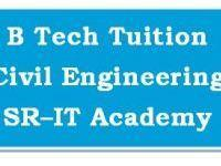 B.Tech Civil Engineering Tuition *** All Subjects ***