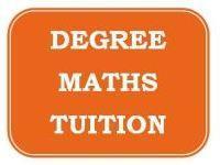 Degree MATHS Tuition ( B.Sc Mathematics )