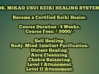DR. USUI REIKI HEALING - FIRST & SECOND DEGREE