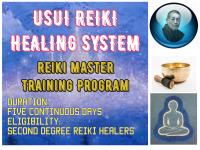 DR. USUI REIKI HEALING - THIRD DEGREE AND REIKI MASTERS TRAINING