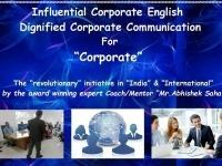 Influential Corporate English and Dignified Corporate Communication For Corporate