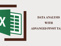Data Analysis with Advanced Pivot Table