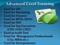 Advanced Microsoft Excel Training for Corporate in Chennai