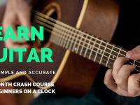 Beginner's Crash Course in Guitar