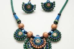 Terracotta jewelley making in east tambaram, chennai.