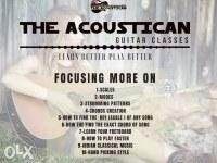 The Acoustican Guitar Classes( Best Guitar classes in Lucknow)