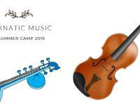 Carnatic Summer Camp in Vocal,Violin and Veena