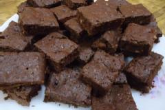 Brownie tea cake