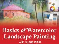 Basics of watercolor landscape painting