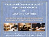 Motivational Communication Skill And Inspirational Soft Skill For Lawyers & Advocates