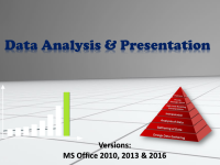 Data Analysis and Visualisation Training for Corporate in Chennai