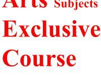 Good Grasp on Arts Subjects