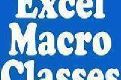 Excel Macro Classes