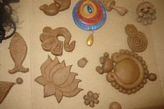 Workshop on terracotta jewelry making