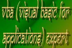 Microsoft Visual basic for Applications (MS-VBA)