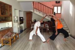 Yoga therapy for health problems
