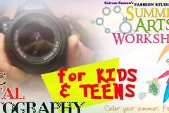 Photography Workshop for Kids, Moms & Aspiring