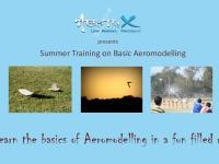 Summer Training on Basic Aeromodelling for School Students
