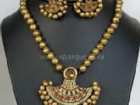Terracotta, Fashion N Paper Jewellery Making.. SUPPLY NATURAL CLAY AT LOW COST!!