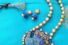 Advanced terracotta jewellery making class in tirupur by Nakshatra terracotta jewellery