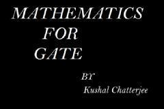 Engineering Mathematics for GATE 2014