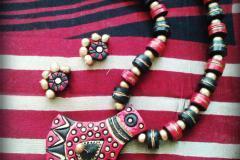 Advanced Terracotta jewellery making classes in tirupur by Nakshatra terracotta jewellery