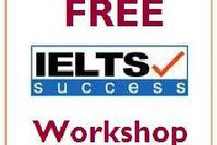 FREE IELTS workshop (by native English speaking professional tutor)
