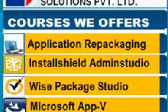 The Best Application Packaging Training and Placement 100%