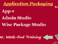 Application Packaging  Appv & Msi Packaging Training