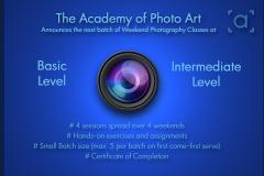 Intermediate Photography Classes