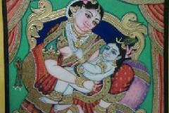 Traditional Mysore Art