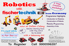 ROBOTICS with Fischertechnic-Germany