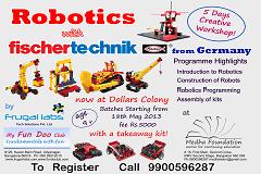 ROBOTICS with Fischertechnic-Germany