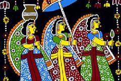 Learn the beautiful art, Madhubani Painting