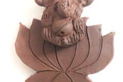 Terracotta jewellery making classes in tirupur with 3 methods of baking by Nakshatra terracotta jewellery