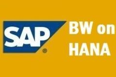 SAP BW ON HANA ONLINE TRAINING