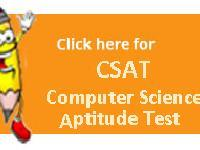 CSAT - Computer Science Aptitude Test